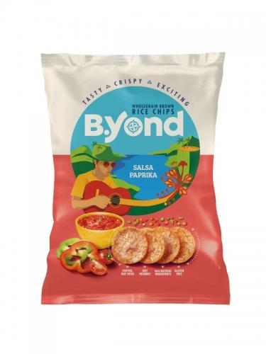 Chipsy ryżowe pełnoziarniste salsa / papryka 70g*B.YOND*
