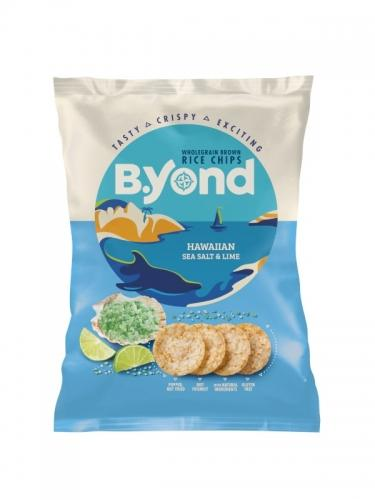 Chipsy ryżowe pełnoziarniste sól / pieprz / limonka 70g*B.YOND*