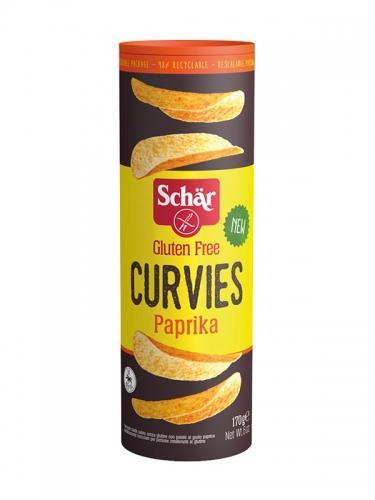 Chipsy ziemniaczane paprykowe 170g*SCHÄR*
