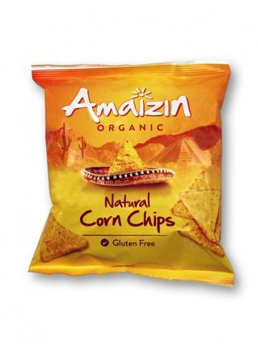 Chipsy solone **Tortilla** kukurydziane 75g*AMAIZIN*BIO