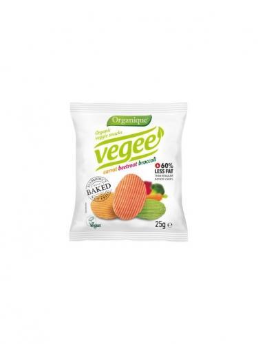 Chipsy **Vegee** ziemniaczane warzywne 25g*ORGANIQUE*BIO