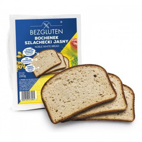 Chleb **Bochenek Szlachecki Jasny** 260g*BEZGLUTEN*