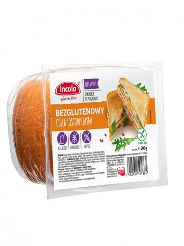Chleb tostowy jasny bezglutenowy 200g*INCOLA*
