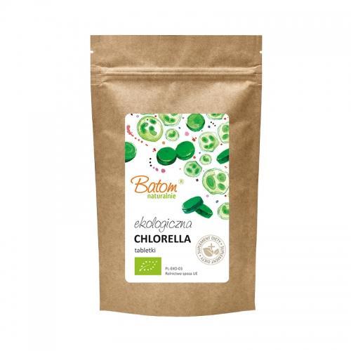 Chlorella 40 0mg tabletki 250g*BATOM*BIO