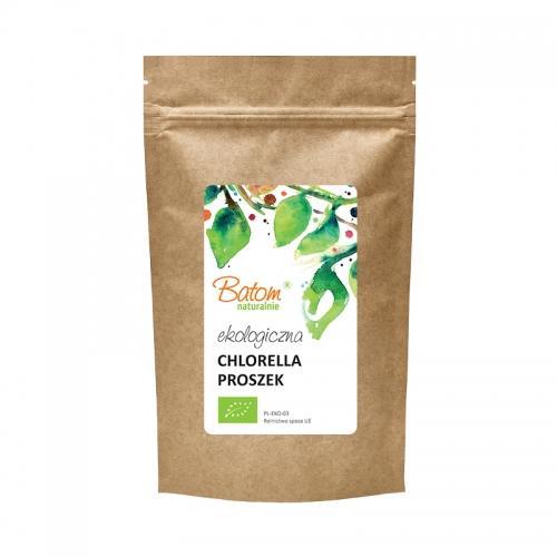 Chlorella proszek 100g*BATOM*BIO - opakowanie zbiorcze po 6 szt.