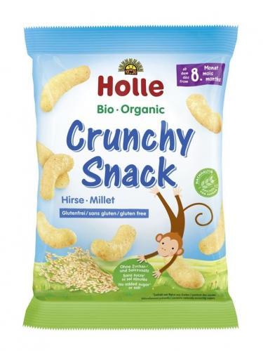 Chrupki **Crunchy Snack** jaglane 25g*HOLLE*BIO