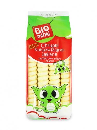 Chrupki kukurydziano- jaglane bezglutenowe 60g*BIO PLANET*BIO