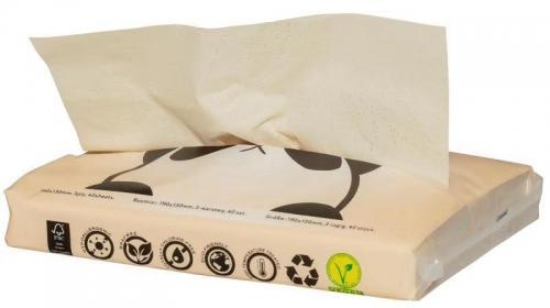 Chusteczki higieniczne / balsam bambusowe 40szt*BAMBOO ZUZII*