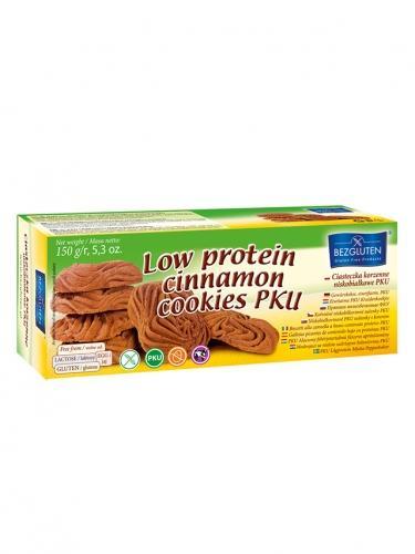 Ciasteczka korzenne niskobiałkowe PKU 150g*BEZGLUTEN*