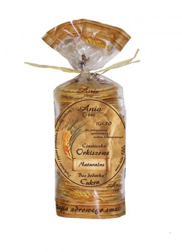 Ciasteczka orkiszowe naturalne bezcukrowe 120g*ANIA*