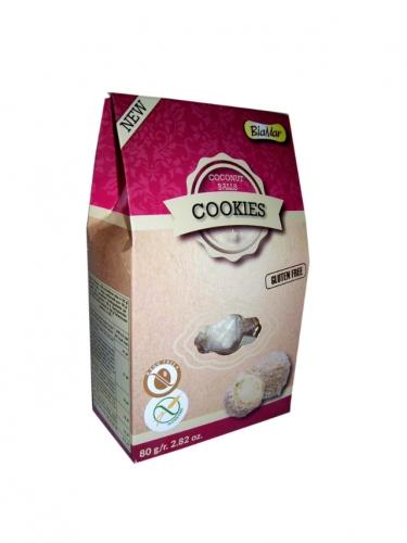 Ciastka **Coconut Balls** kokosowe 80g*COOKIES BIAMAR*