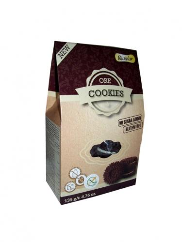 Ciastka **Ore** czekoladowe bez dodatku cukru 120g*COOKIES BIAMAR*