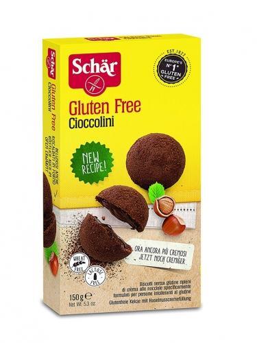 Ciasteczka **Cioccolini** nadziewane 150g*SCHÄR*