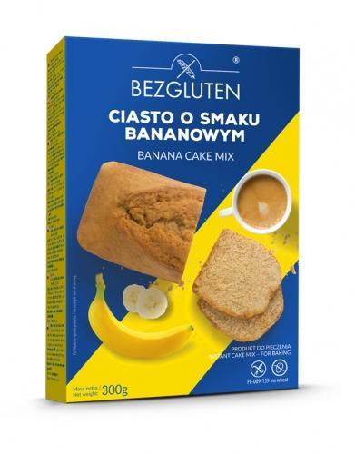 Ciasto **Bananowe** w proszku 300g*BEZGLUTEN* TERMIN: 27.09.2019