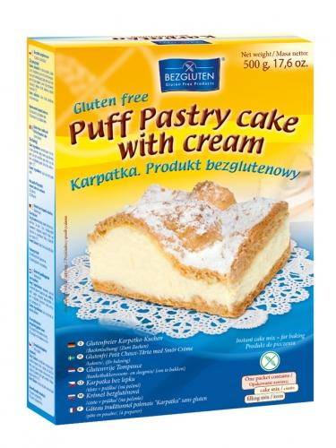 Ciasto **Karpatka** w proszku 500g*BEZGLUTEN* TERMIN: 25.09.2020