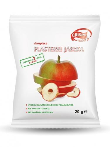 Crispy jabłkowe 18g*CRISPY NATURAL*