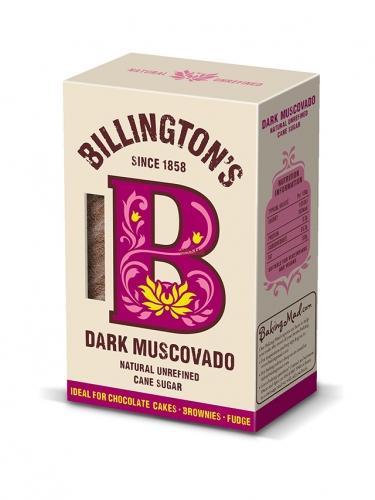 Cukier trzcinowy **Muscovado** ciemny 500g*BILLINGTON'S *