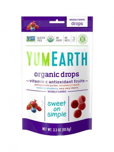Cukierki owocowe **Anti-oxi fruits** 93,5g*YUMEARTH ORGANICS*BIO