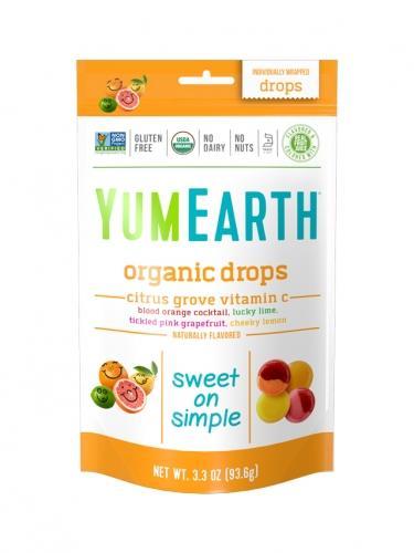 Cukierki owocowe **Citrus grove** 93,5g*YUMEARTH ORGANICS*BIO