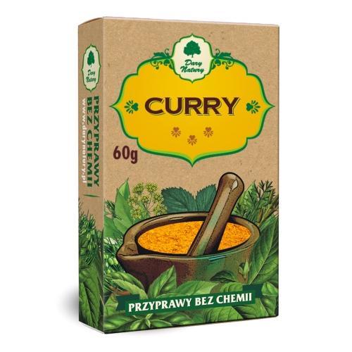 Curry 60g*DARY NATURY* - opakowanie zbiorcze po 10 szt.