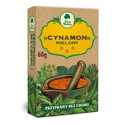 Cynamon mielony 60g*DARY NATURY* - opakowanie zbiorcze po 10 szt.