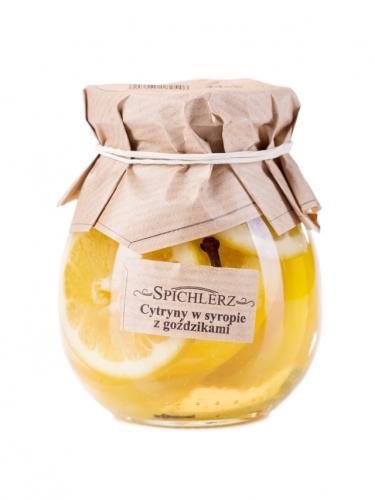 Cytryny w syropie z goździkami 290g*SPICHLERZ*
