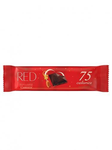 Czekolada gorzka 40% / skórka pomarańczowa / migdały bez cukru 26g*RED* TERMIN: 01.03.2021