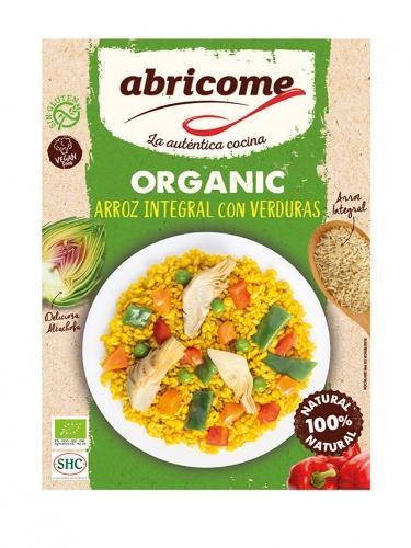 Danie gotowe **Arroz integral con Verduras / Ryż z Warzywami** wegańskie 250g*ABRICOME*BIO