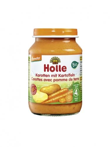 Danie marchew / ziemniaki słoik 190g*HOLLE*BIO DEMETER