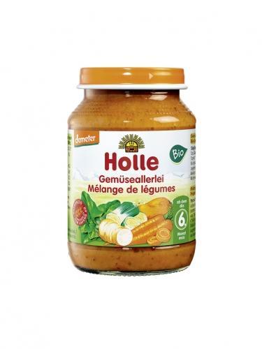 Danie mix warzywny słoik 190g*HOLLE*BIO DEMETER