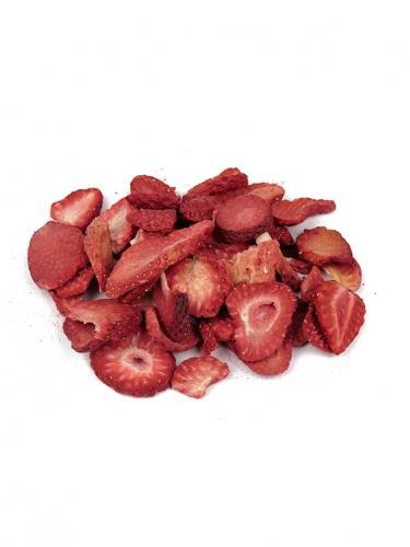 Owoce liofilizowane **Truskawka** 100g*DETAL*