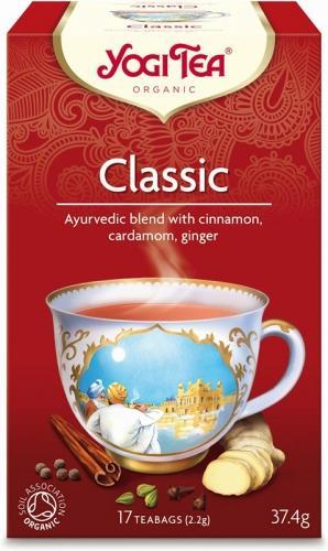 Herbata **Classic** cynamonowa ekspres 17T*YOGI TEA*BIO