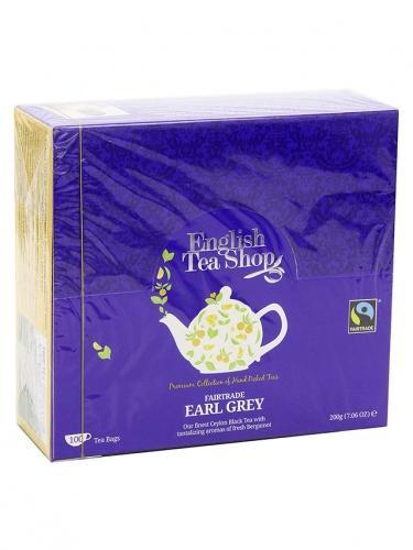 Herbata **Earl Grey** ekspres 100T*ENGLISH TEA SHOP*BIO