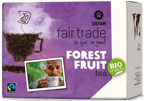 Herbata czarna **Owoce leśne** ekspres 20T*OXFAM*BIO
