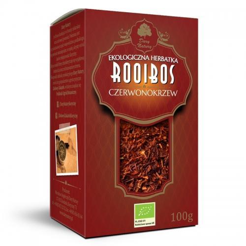 Herbata rooibos liściasta 100g*DARY NATURY*BIO