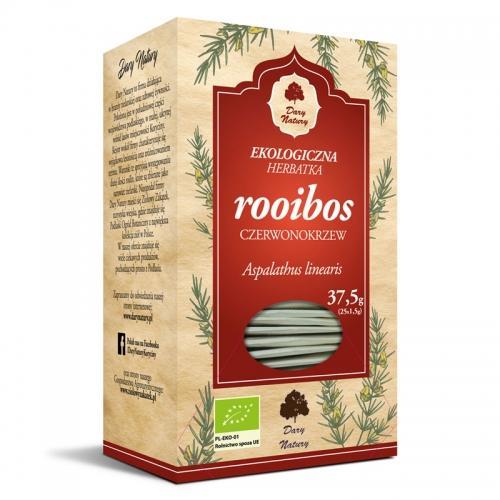 Herbata rooibos ekspres 25szt*DARY NATURY*BIO