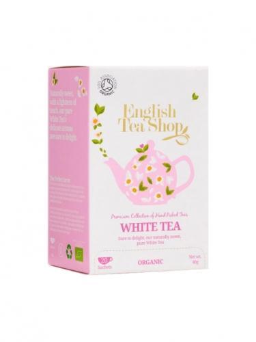 Herbata biała ekspres 20T*ENGLISH TEA SHOP*BIO