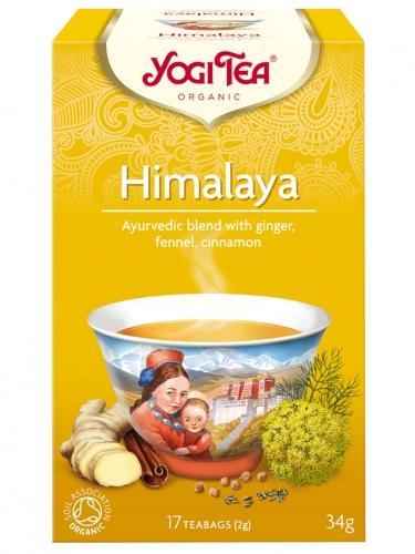 Herbata **Himalaya** imbirowa ekspres 17T*YOGI TEA*BIO