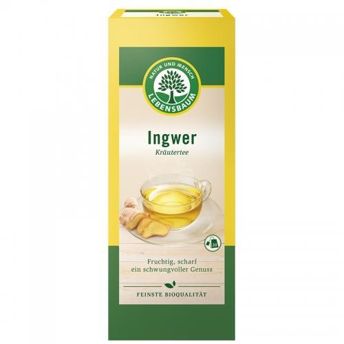 Herbatka imbirowa ekspres 20szt*LEBENSBAUM*BIO