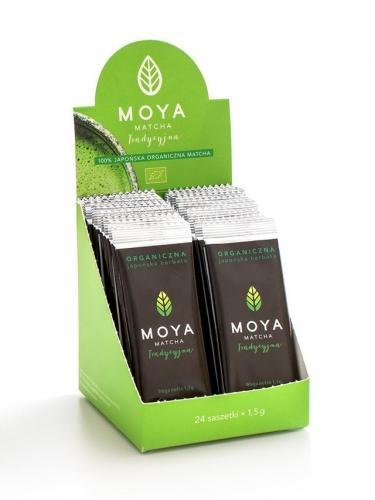 Herbata matcha **Tradycyjna** 24x1,5g*MOYA*BIO