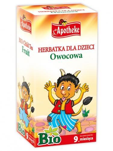 Herbata owocowa dla dzieci ekspres 20T*APOTHEKE*BIO
