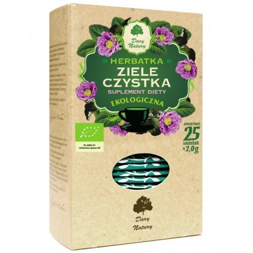 Herbatka **Czystek** ziele ekspres  25T*DARY NATURY*BIO