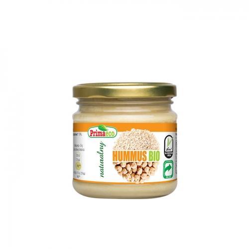 Hummus naturalny 160g*PRIMAVIKA*BIO TERMIN: 30.11.2021