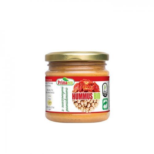Hummus z suszonymi pomidorami 160g*PRIMAVIKA*BIO TERMIN: 29.11.2021