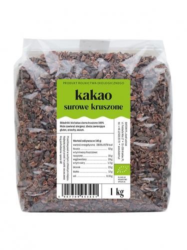 Kakao surowe kruszone 1kg*DETAL*BIO