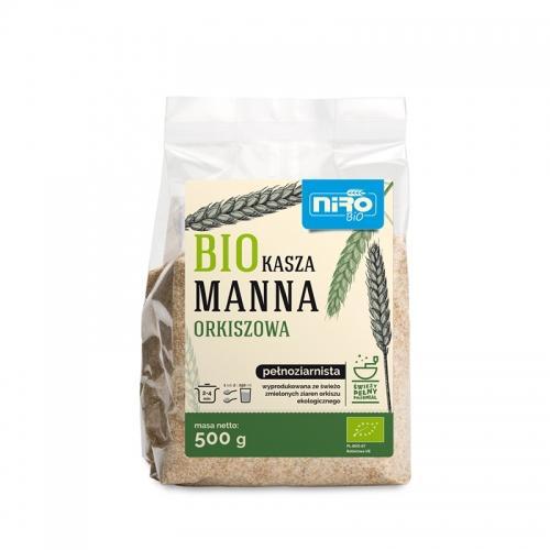 Kasza manna orkiszowa pełnoziarnista 500g*NIRO*BIO