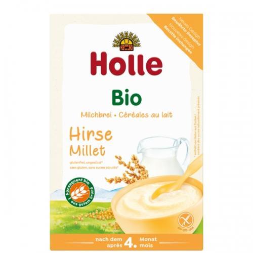 Kaszka mleczna jaglana pełnoziarnista 250g*HOLLE*BIO