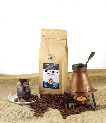 Kawa **Costa Rica** Arabica 100% ziarnista 250g*COFFEE HUNTER*  - najlepiej spożyć przed: 17.12.2021