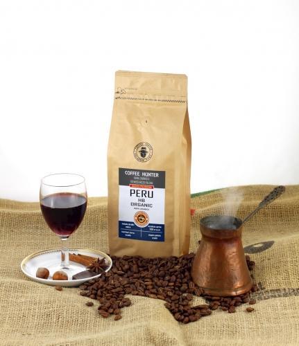 Kawa **Peru** Arabica 100% ziarnista 250g*COFFEE HUNTER*BIO