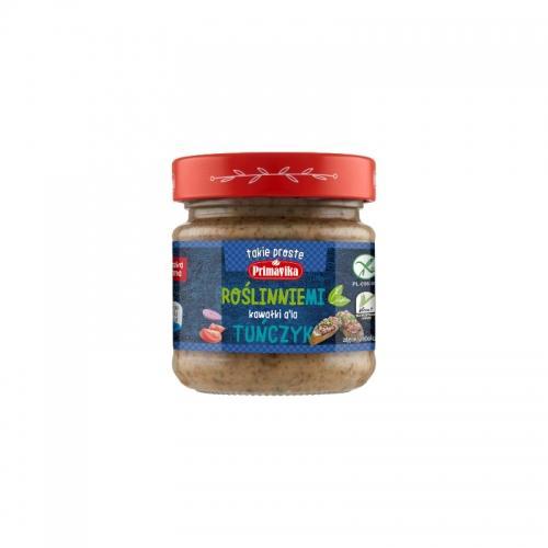 Kawałki sojowe **RoślinnieMi** a'la tuńczyk 160g*PRIMAVIKA*
